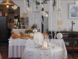 elegante e luminosa sala per cerimonie e ricevimenti