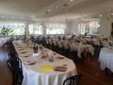 accogliente sala da pranzo per festa