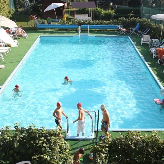 Piscina hotel Scoiattolo