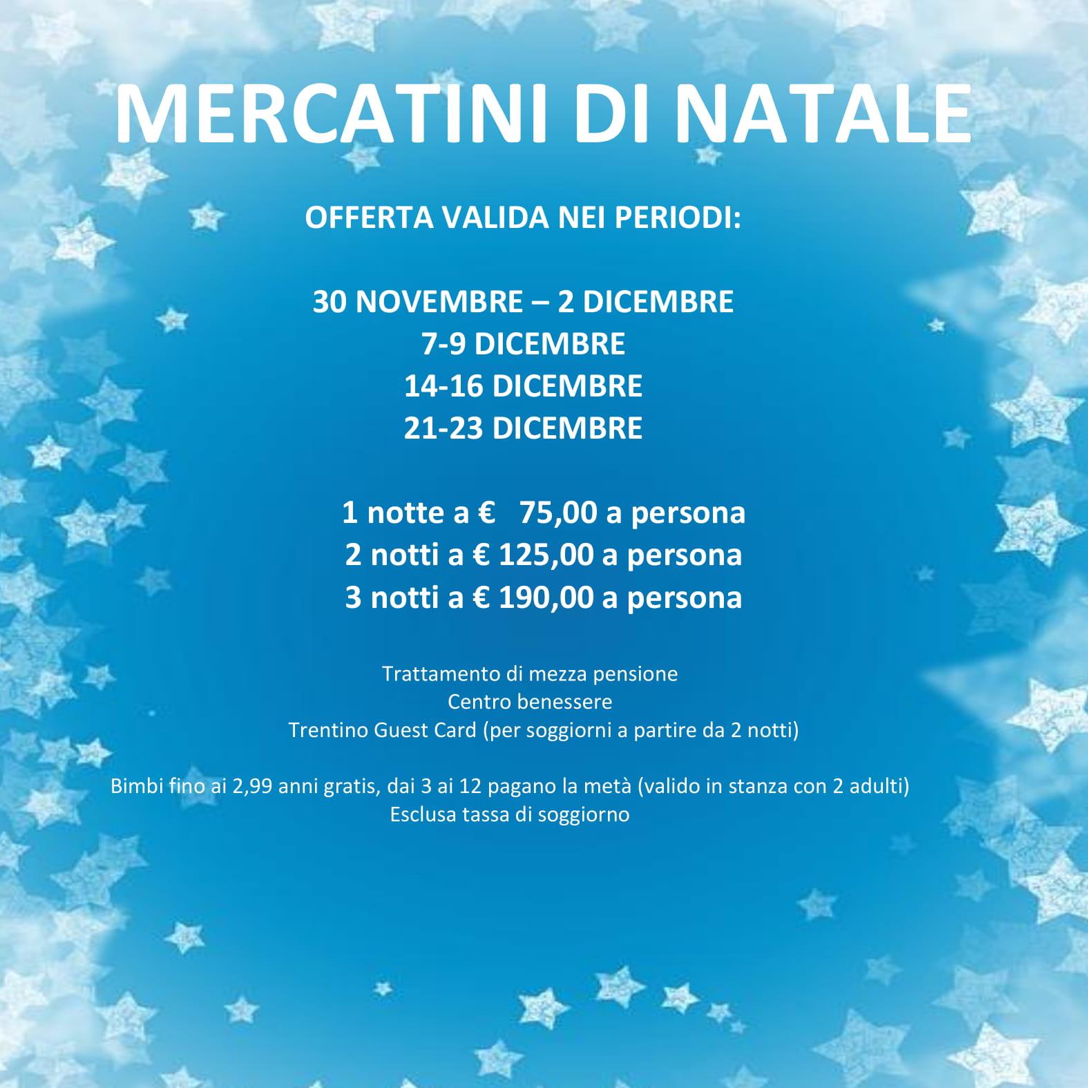 MERCATINI DI NATALE 2018-IMMAGINE