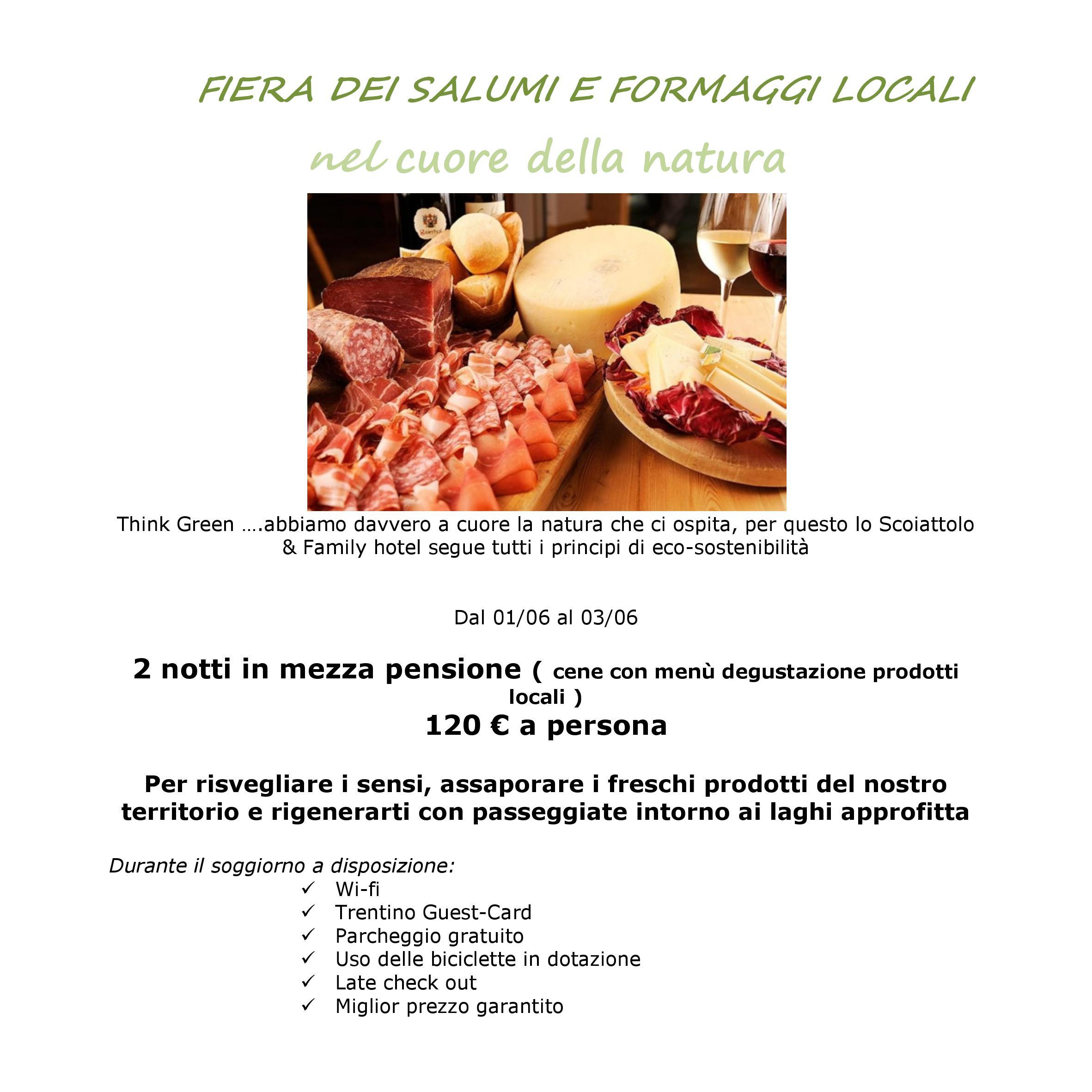 foto salumi e formaggi offerta